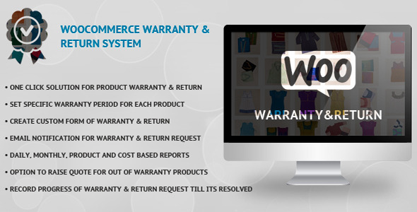 WooCommerce Warranty & Return System - CodeCanyon Item for Sale