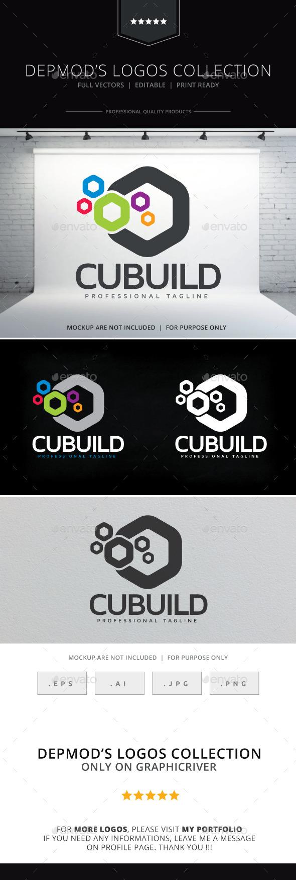 Cubuild Logo - Abstract Logo Templates