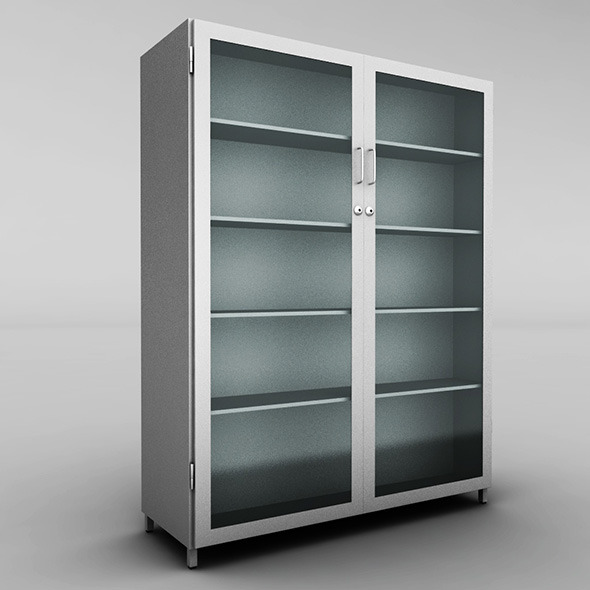 Metal cabinet - 3DOcean Item for Sale