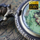 Pocket Watches On The World Map 5 - VideoHive Item for Sale