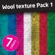 Wool Texture, Background in 7 Colors - GraphicRiver Item for Sale