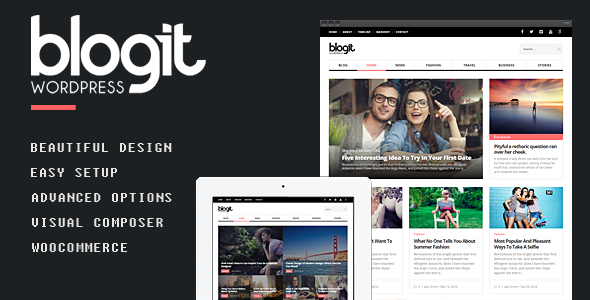 Blogit – Clean Blog/Magazine WordPress Theme
