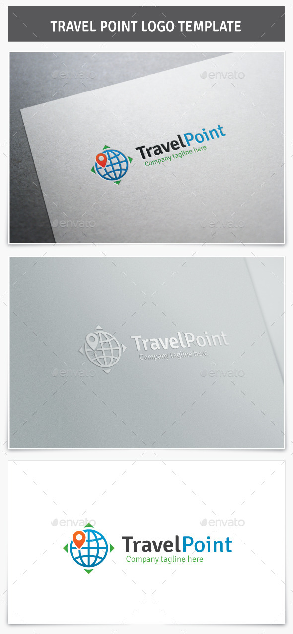 Travel Point Logo - Symbols Logo Templates