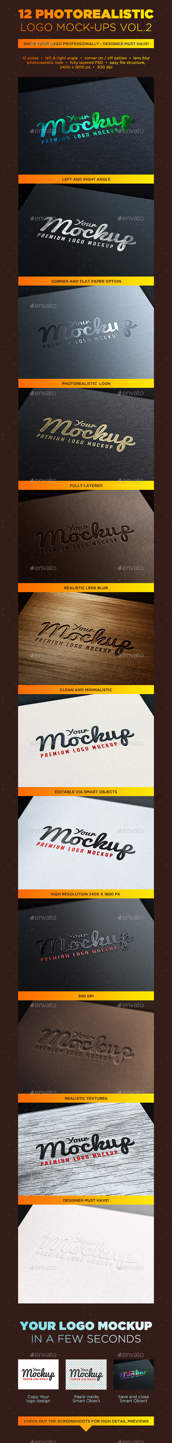 Your Mockup - Logo Mockups VOL.2 - Logo Product Mock-Ups