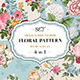 Vintage Classic Floral Pattern Colorful Set - GraphicRiver Item for Sale