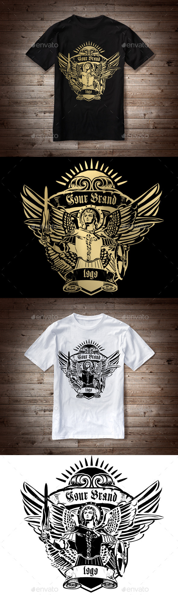 T-Shirt Illustration Angel - T-Shirts