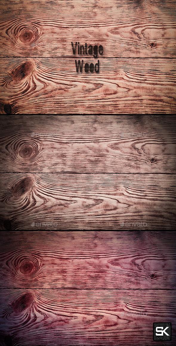 Vintage Wood.2 - Wood Textures