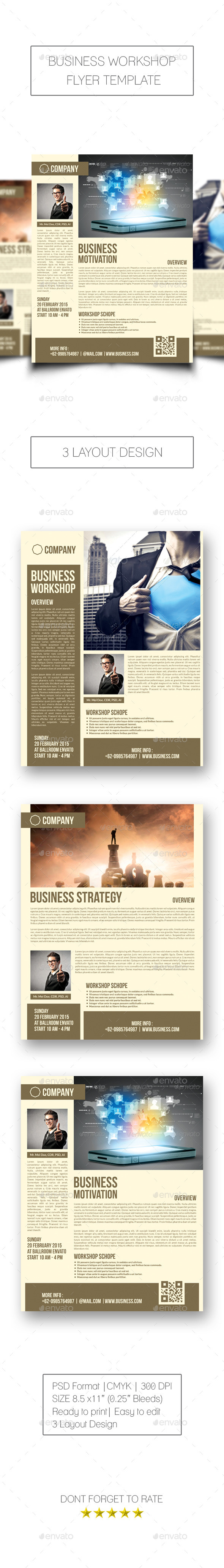 Business Workshop Flyer - Corporate Flyers