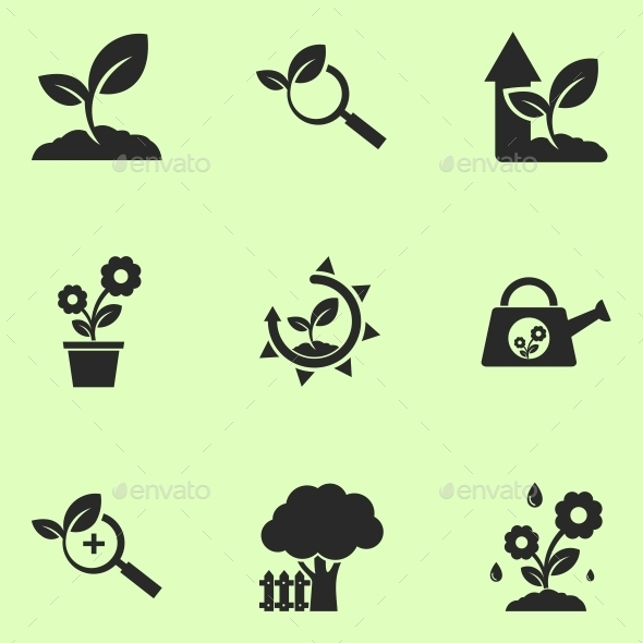 Plants Icons - Miscellaneous Icons