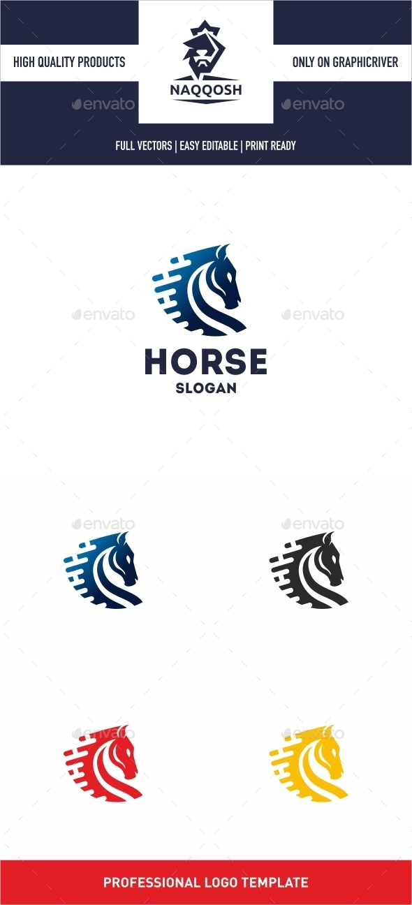 Horse - Animals Logo Templates