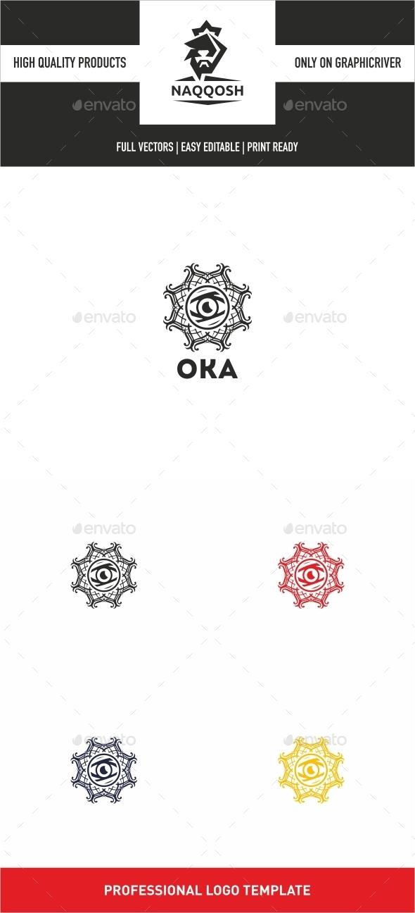 Oka  - Symbols Logo Templates