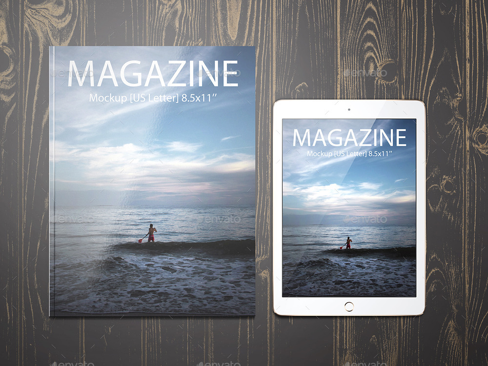 8 5x11 Magazine Mockup By Professorinc Graphicriver