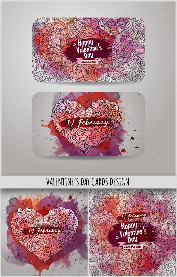 Valentine's Day Cards Design - Valentines Seasons/Holidays