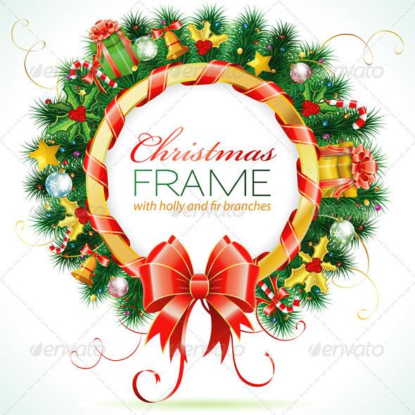 Christmas Wreath - Christmas Seasons/Holidays