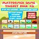 Platformer Game Tileset Pack #1 - GraphicRiver Item for Sale