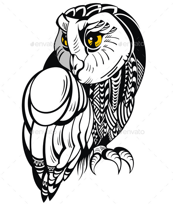 Decorative Owl - Animals Characters