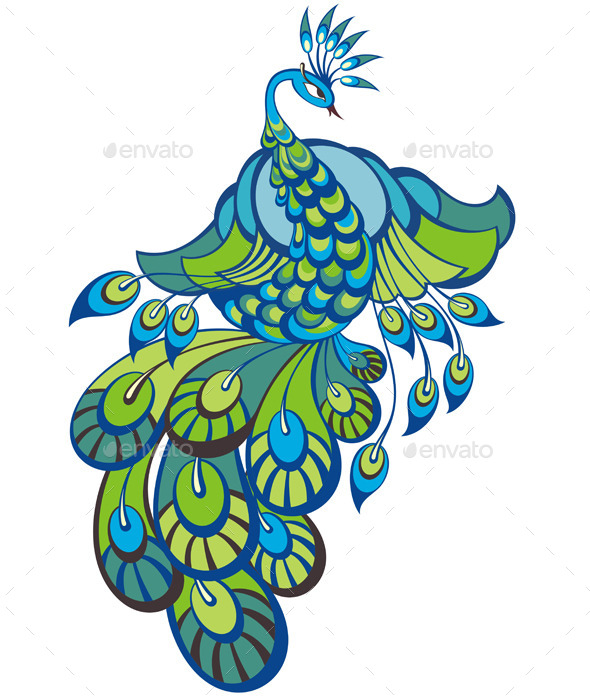 Peacock - Animals Characters