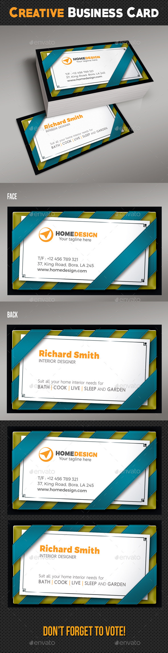 Creative Business Card 05 - Creative Business Cards