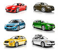 Collection of 3D Cars Isolated - PhotoDune Item for Sale