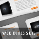 Web Boxes Set - GraphicRiver Item for Sale