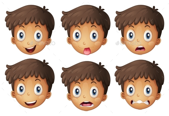 Face of a Boy - People Characters