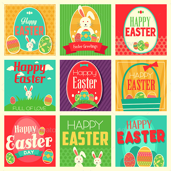 Easter Cards - Seasons/Holidays Conceptual
