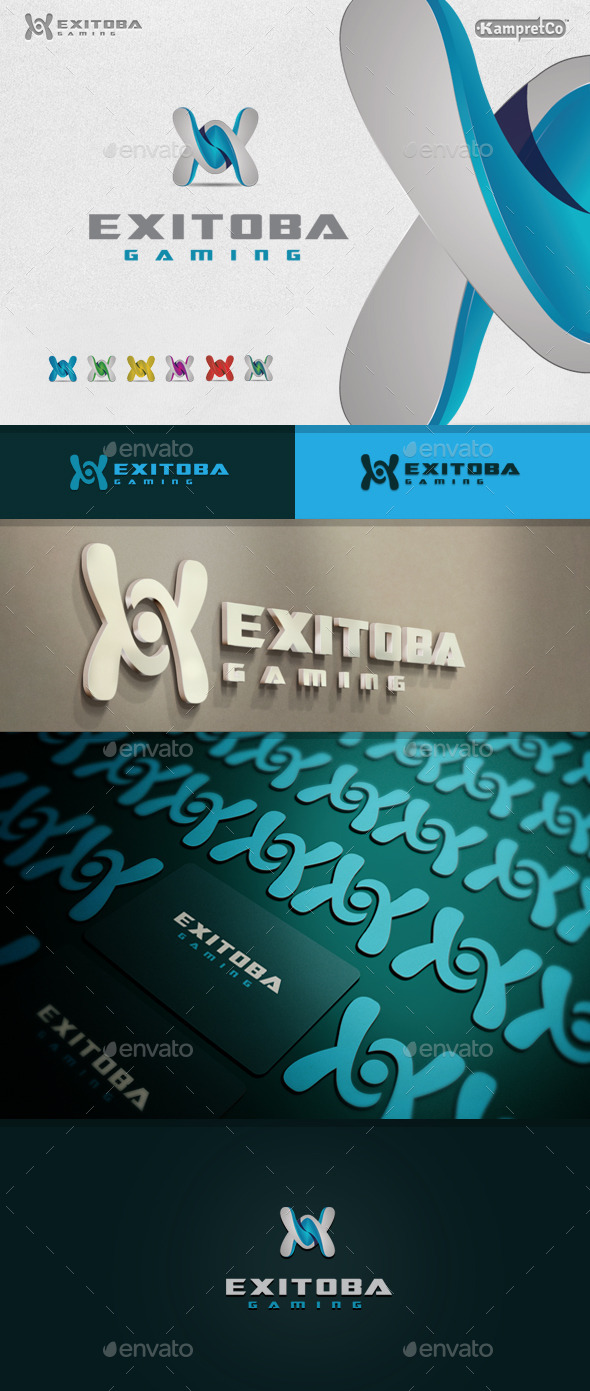X Letter Logo - Letters Logo Templates