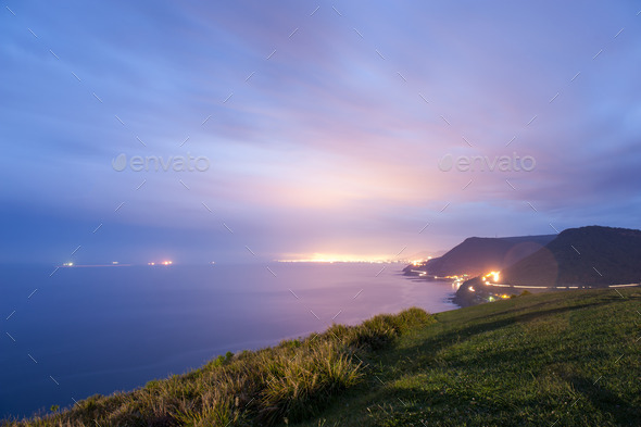Bald Hill Lookout Stanwell Park - Australia - Stock Photo - Images