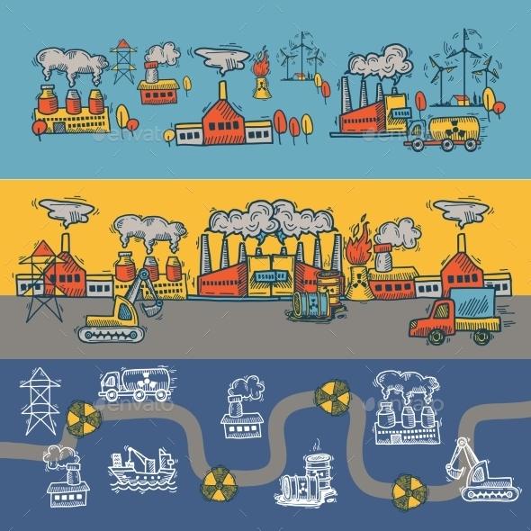 Industrial Design  - Borders Decorative