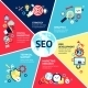 Seo Infographic Set - GraphicRiver Item for Sale