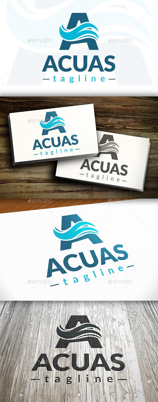 Aquatic Logo - Letters Logo Templates