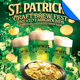 St. Patrick's Day Beer Fest Flyer Template
