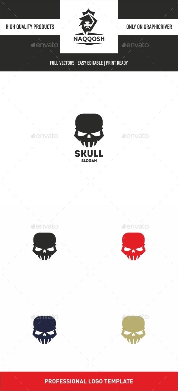 Skull - Symbols Logo Templates