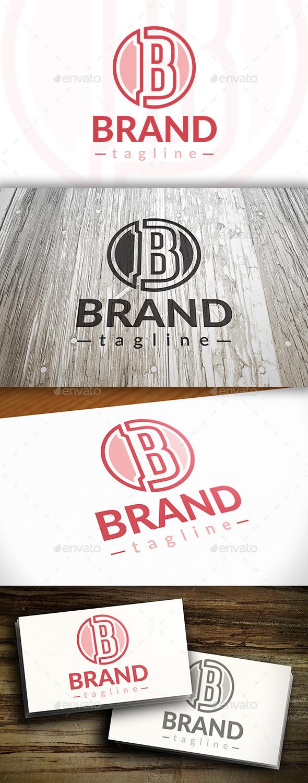 B Letter Brand Logo - Letters Logo Templates