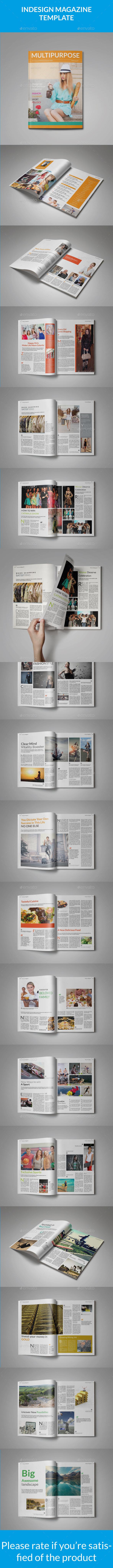 Multi-purpose Magazine - Magazines Print Templates