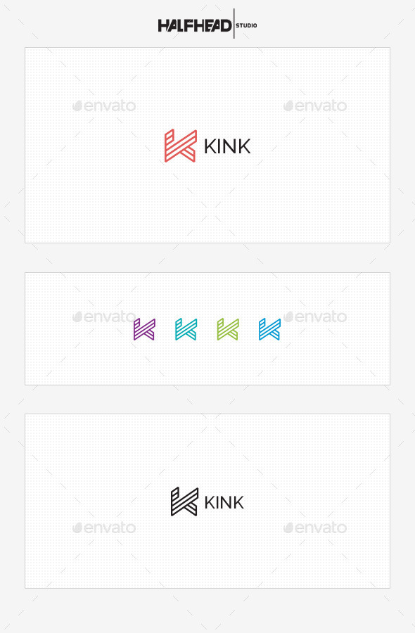 Kink Logo Template - Letters Logo Templates