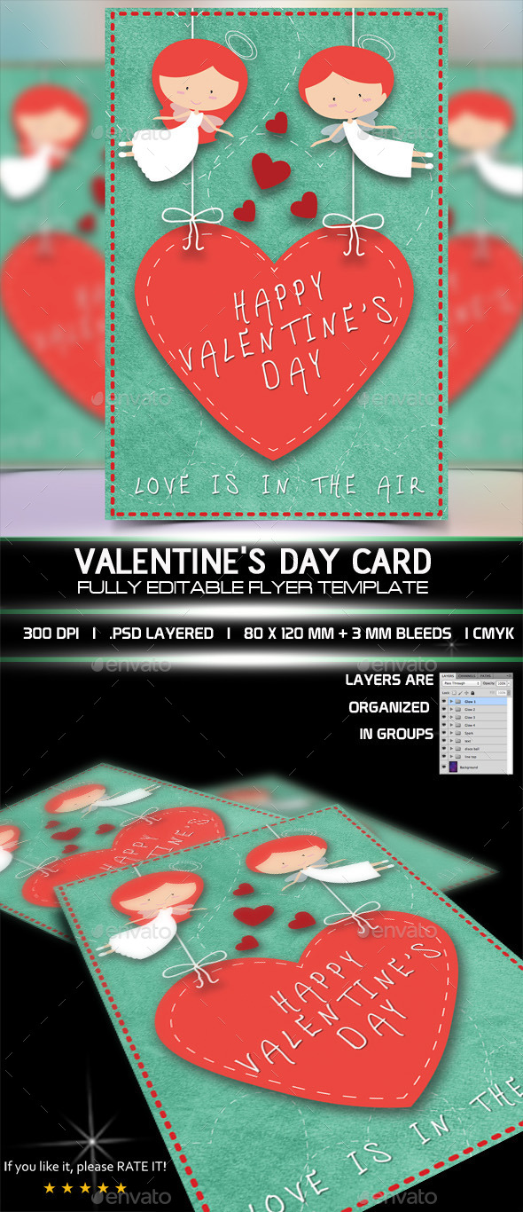 Valentine Card - Greeting Cards Cards & Invites