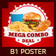 Restaurant Fast Food  Signage B1 Poster - GraphicRiver Item for Sale