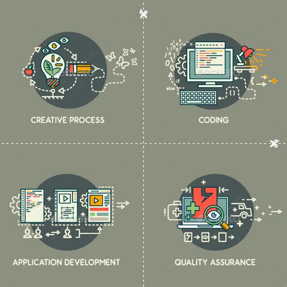 Creativity,Coding,Development,Quality Assurance    - Computers Technology