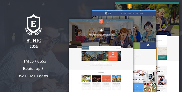 ETHIC – Education, Event and Course Template