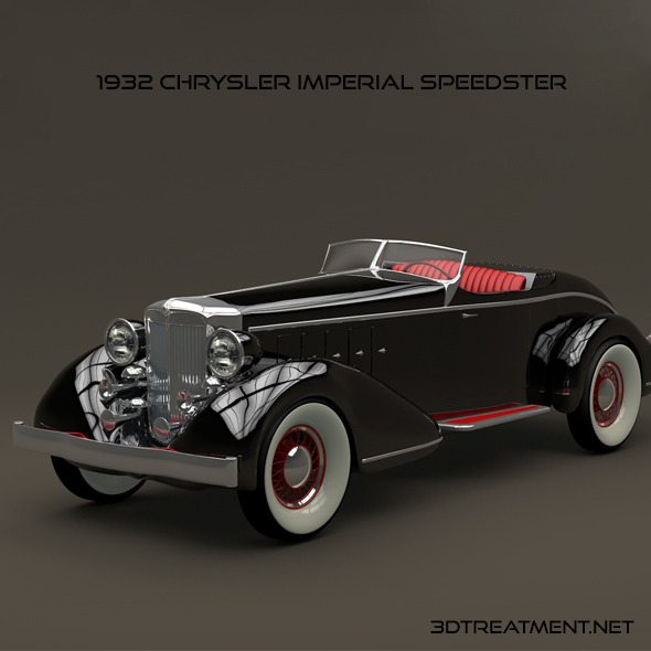 1932 Chrysler Imperial Speedster - 3DOcean Item for Sale