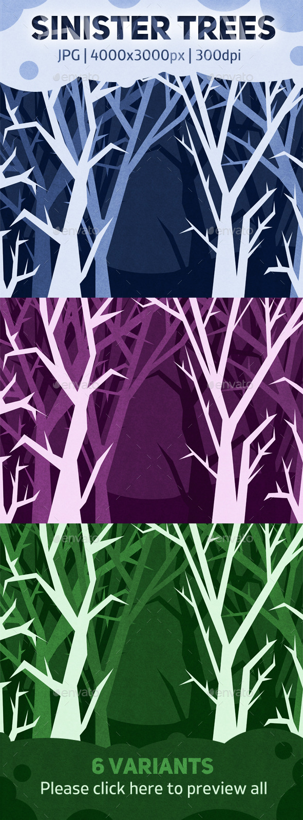 Sinister Trees - Miscellaneous Backgrounds