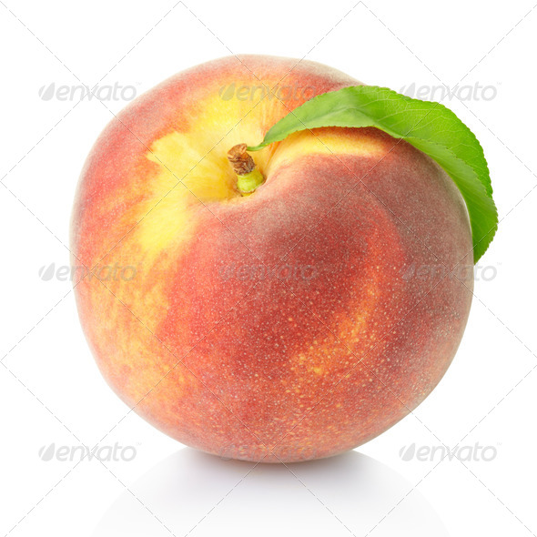 Peach fruit - Stock Photo - Images
