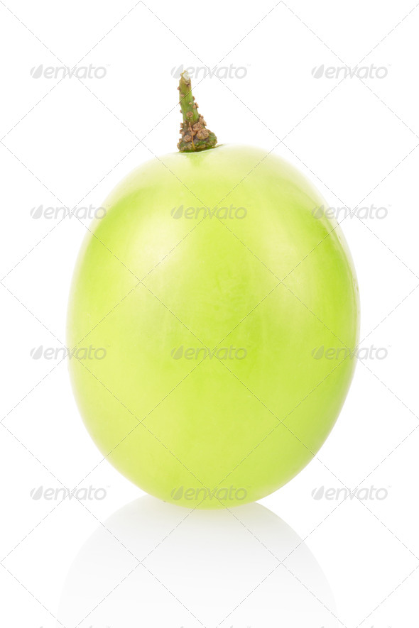 Green grape berry  - Stock Photo - Images