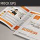 Realistic A4 Bi Fold Brochure Mock Ups - GraphicRiver Item for Sale