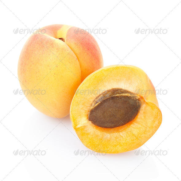Apricot fruit - Stock Photo - Images