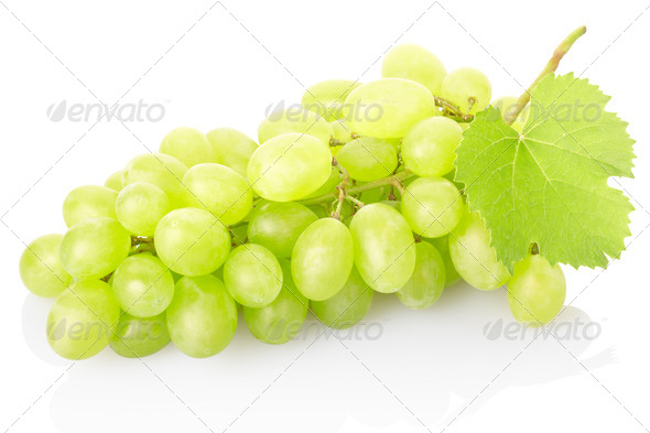Fresh green grape - Stock Photo - Images