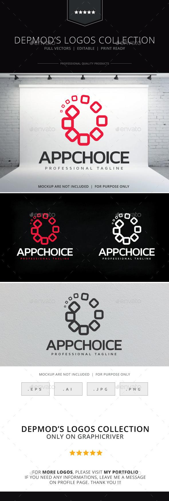 App Choice Logo - Abstract Logo Templates