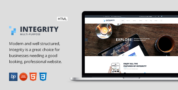 Integrity - Responsive Business HTML5 Template