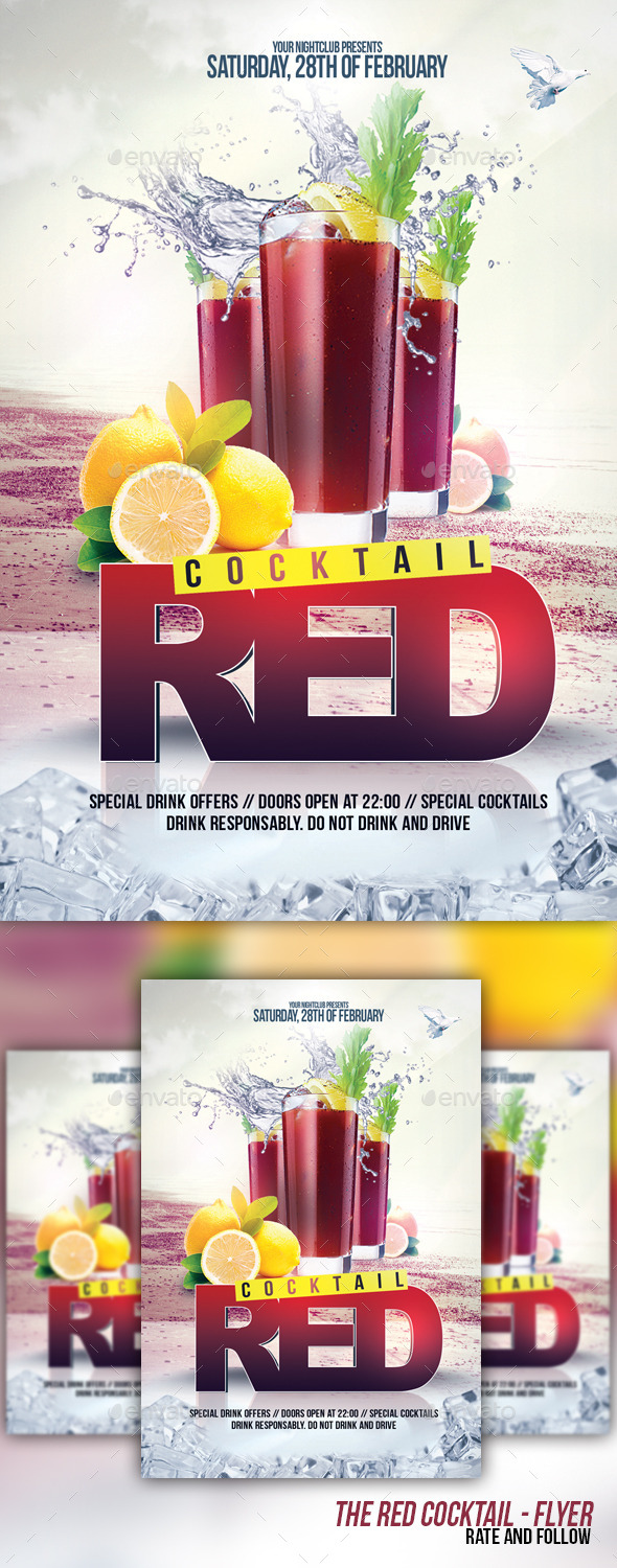 The Red Cocktail - Clubs & Parties Events